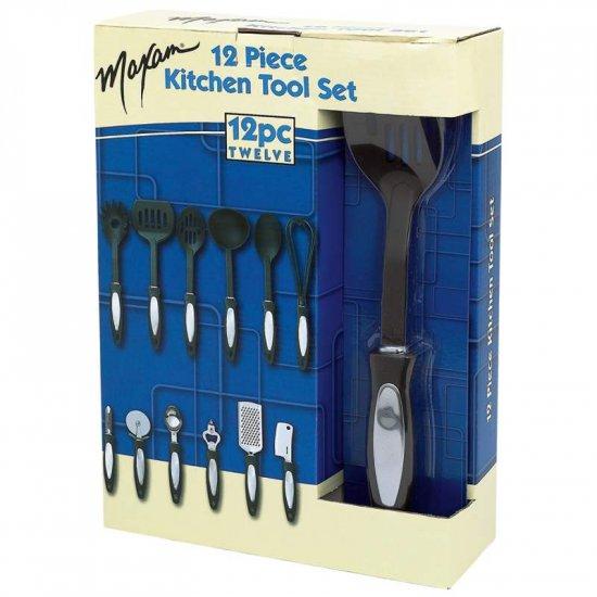 KTSS732: Maxam 12pc Kitchen Tool Set