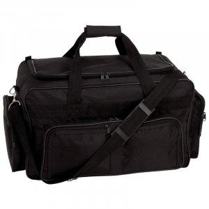 "LURC23/00: Royal Crest Black 23"" Tote Bag"