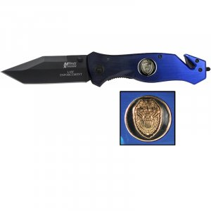 MX8028/00: MTech Police Law Enforcement Knife, Seatbelt Cutter, Glassbreaker