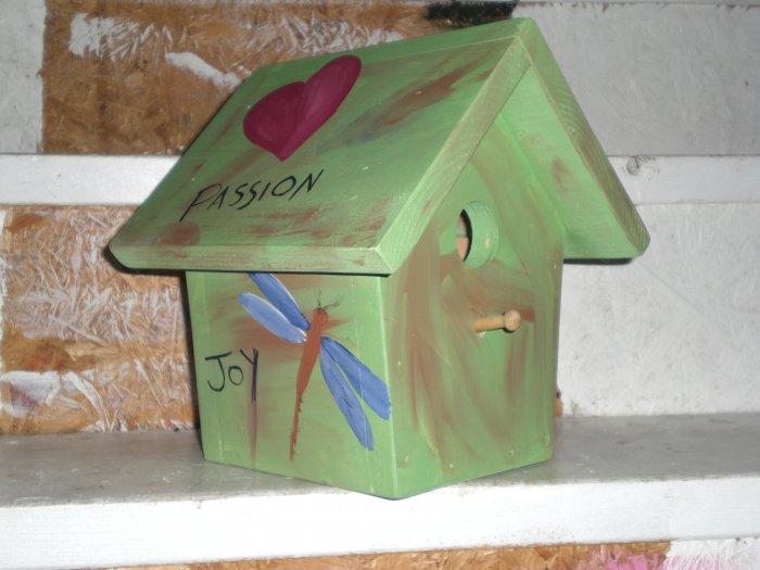 Peace and Joy is For The Birds!  Custom House!