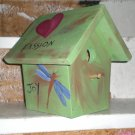 Peace and Joy is For The Birds!  Custom House!