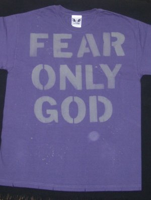 Fear Only God (L)