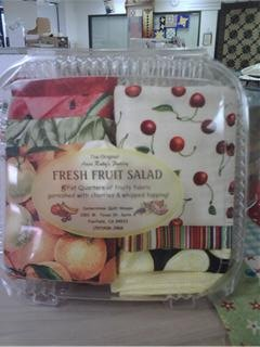 Fresh Fruit Salad - 8 Fat Quarters
