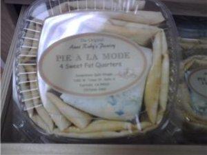 Pie ala Mode - 4 Sweet Fat Quarters