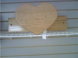 Small Heart Quilting Rack
