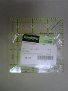 "OmniGrid Fabric Ruler - 3.5"" Square"