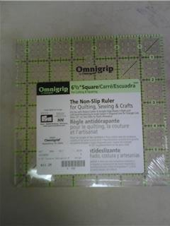 "OmniGrid Fabric Ruler - 6.5"" Square"