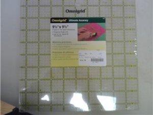 """OmniGrid Fabric Ruler - 9.5"""" Square"""
