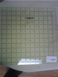"""OmniGrid Fabric Ruler - 12.5"""" Square"""