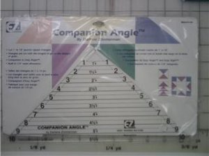 "EZ Quilting - Companion Angle 10"" Triangle"