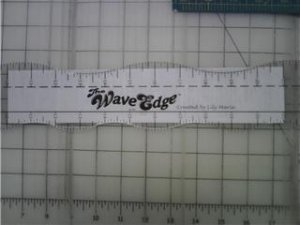 "The Wave Edge - 24"" Wavy Ruler"
