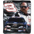 Nascar Fleece Blanket/Throw - Dale Earnhardt Sr FREE SHIPPING
