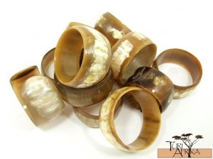 Product ID: 80     Large Cowhorn Bracelet (Sold Individually)