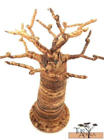 Product ID: 82     Small Baobab Tree (Made With Banana Fiber)