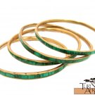 Product ID: 99     Brass & Malachite Bracelets EACH