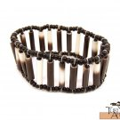 Product ID: 125     Quill Braccelet w/ Black Beads