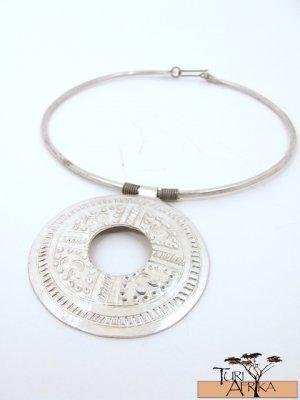 Product ID: 148     Aluminum Choker W/ Large Alum Disk W Hole In It