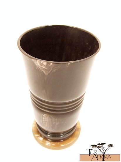 Product ID: 149     Cow Horn Vase (Not Water-Tight)