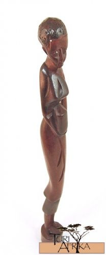 Product ID: 155     Wooden Woman Sculpture