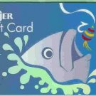 Meijer Collectible Gift Card - Fly Fishing Holographic Silver Foil 10028xx