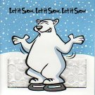 JCPenney Collectible Gift Card - Bubble Wrap & Glitter - Polar Bear Let It Snow SV0701071