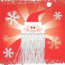 JCPenney Collectible Gift Card - Santa Claus Fringe Beard SV0701034