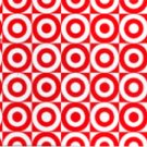 Target Collectible Gift Card - Merchandise Return - Tiled Bullseye 0352 - USED