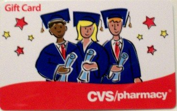 CVS Pharmacy Collectible Gift Card - Graduation VL-3777