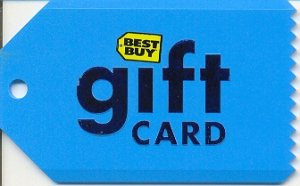 Best Buy Collectible Gift Card - Ice Scraper #5G06 - USED