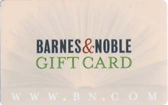 Barnes & Noble Collectible Gift Card - BNGENAF0096 - USED