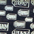 Best Buy Collectible Gift Card - Holographic Silver Price Tag #5E05 - USED