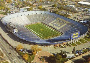 University of Michigan Football Stadium Photo Print - The Big House 2005