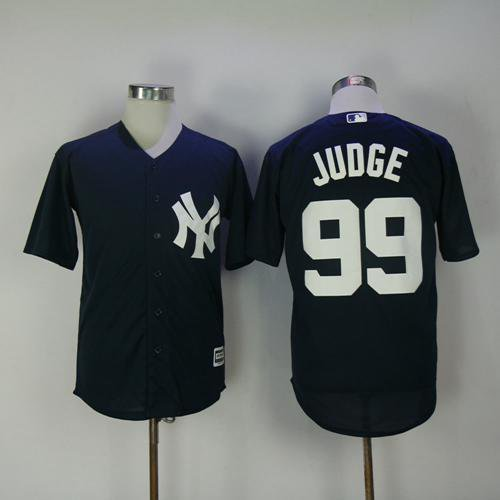 66815e04d Men's #99 Aaron Judge, New York Yankees Navy Blue Cool Base Stitched Jersey  MLB
