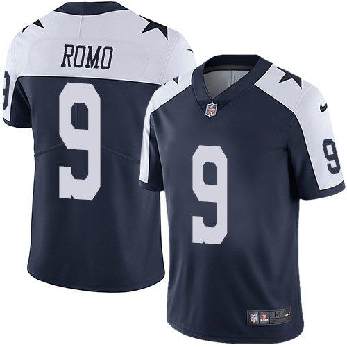 a34155c79 Men's Dallas Cowboys #9 Tony Romo color rush Stitched Football jersey