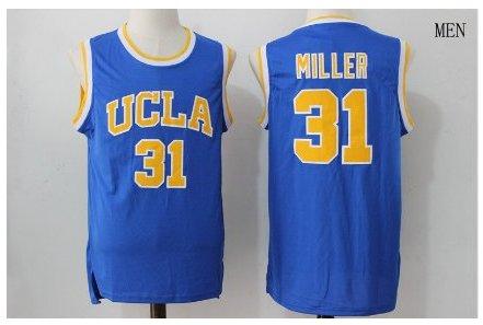 b4cf0129078 UCLA Bruins #31 The Key Mr. Reggie Miller Blue College Basketball Jersey