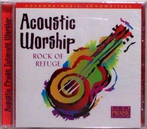 2000 Hosanna! Music ACOUSTIC WORSHIP ROCK OF REFUGE Praise and Worship CD - Christian - NEW Sealed