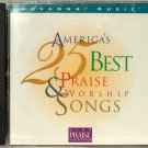 Hosanna! Music AMERICA'S 25 BEST PRAISE & WORSHIP SONGS CD - Christian - 1997