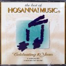Hosanna! Music THE BEST OF HOSANNA! MUSIC CD – 1995 -  Praise & Worship CD - Christian