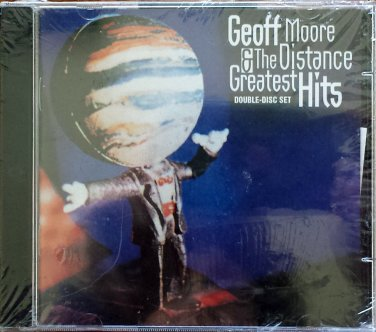 GEOFF MOORE & THE DISTANCE Greatest Hits CD - Factory Sealed - Double-Disc Set - 1996