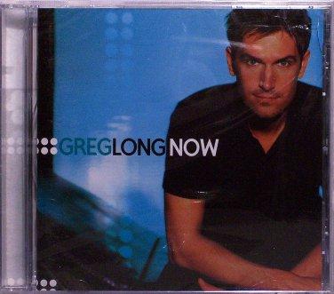 GREG LONG CD - NOW - 2001 - OOP - CHRISTIAN - CCM - FACTORY SEALED