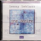 Hosanna! Music ONE DESIRE CD - Praise & Worship - Lenny LeBlanc 2002