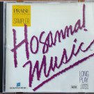 HOSANNA! MUSIC PRAISE & WORSHIP SAMPLER CD - Original 1990 - Excellent!
