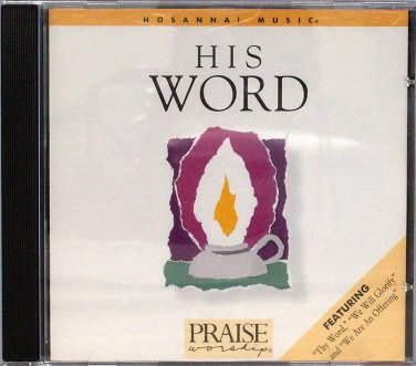 Hosanna! Music HIS WORD CD with David Morris - Praise & Worship - Original 1988 Release - Excellent!
