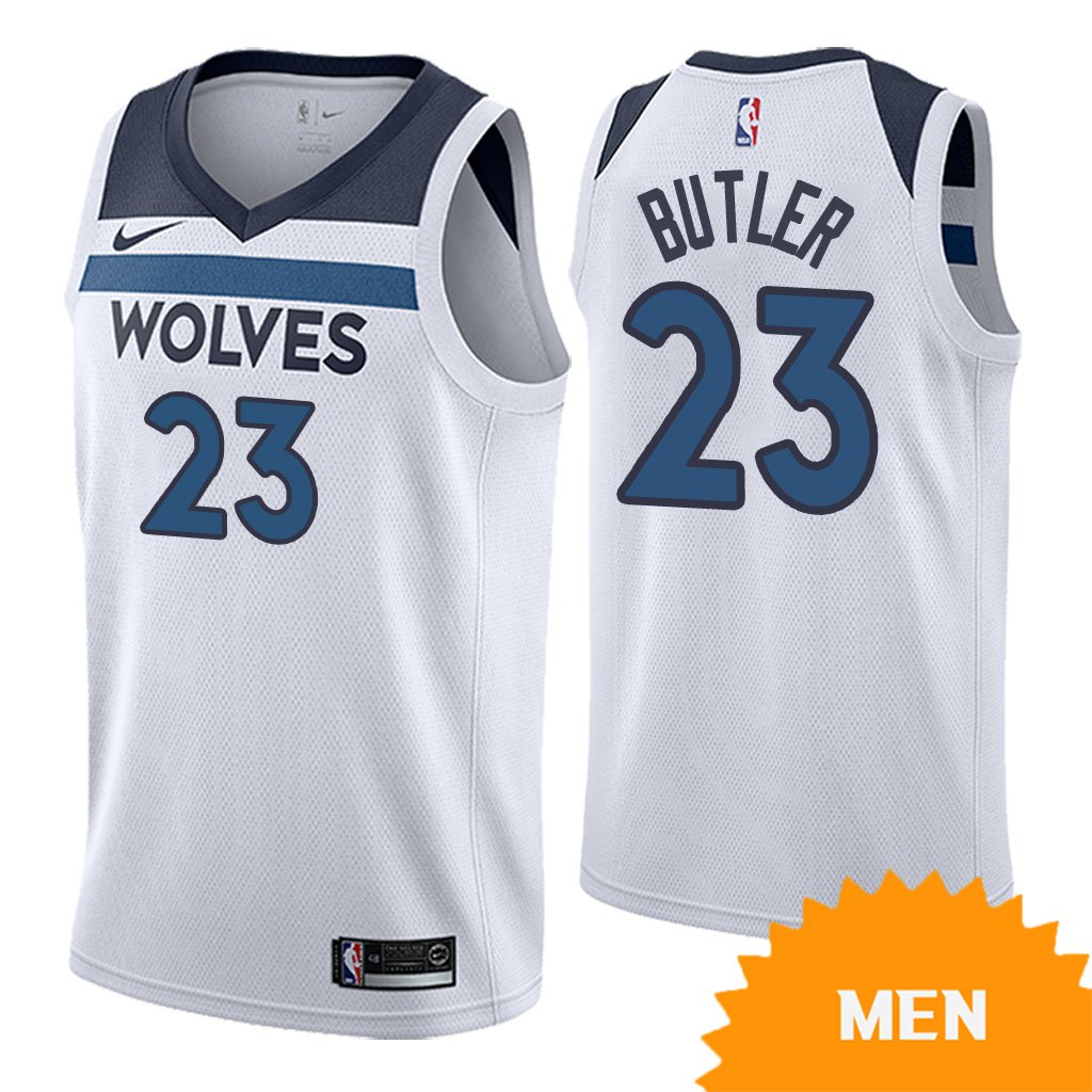 Men s Minnesota Timberwolves Jimmy Butler Association Edition Jersey - White b85d74816