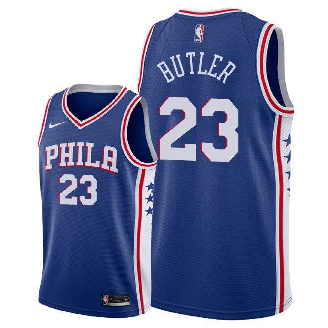 985cc78efa06 Men s Philadelphia 76ers Jimmy Butler Icon Edition Jersey - Blue