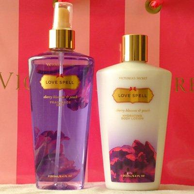 Victoria Secret Love Spell body lotion & spray