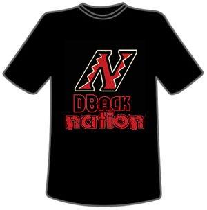 DBack Nation (black tee)