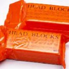 MM0320-Head Blocks I Disposable Foam Orange Blocks