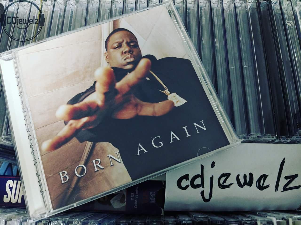 The Notorious B I G  - Born Again - 1999 CD Bad Boy Diddy Biggie Smalls