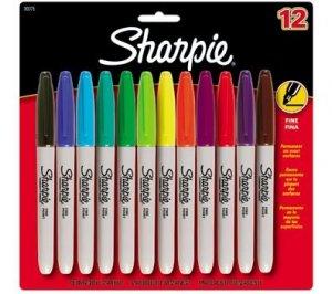 Sharpie Fine Point 12 Permanent Marker